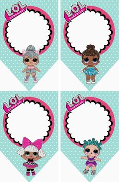 – Oh My Fiesta! in english LOL Surprise Free Printable Bunting. – Oh My Fiesta! in english Little Girl Birthday, 7th Birthday, Birthday Party Themes, Birthday Bunting, Lol Doll Cake, Leelah, Oh My Fiesta, Doll Party, Party Party
