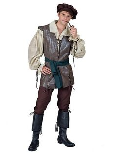 MENS MEDIEVAL PEASANT COSTUME STD   - Click image twice for more info - See a larger selection of men Medieval Renaissance Costumes at http://costumeriver.com/product-category/men-medieval-renaissance-costume/ - men, halloween costumes, halloween  , classic costume, holidays, event, trick or treat , gift ideas, costumes, disguise.