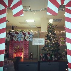 60+ Fun Office Christmas Decorations to Spread the Festive Cheer at Work Place | Pinterest | Decoration Explore and Holidays & 60+ Fun Office Christmas Decorations to Spread the Festive Cheer at ...