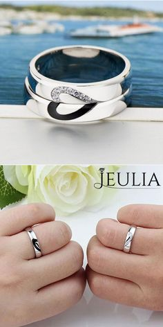 4eec87c9bd3 Most Popular 925 Sterling Silver Promise Ring  jeulia Promise Rings For  Couples