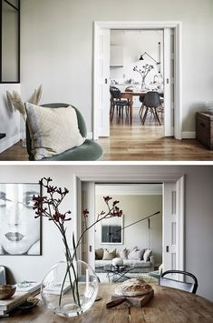 A SWEDISH APARTMENT WITH A TOUCH OF AUTUMN | THE STYLE FILES