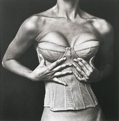 Chanel corset - July 1994 - New York - Design by Karl Lagerfeld - Photo by Irving Penn