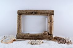 5x7 (12.7cmx17.78cm) Driftwood Picture Frame - Bohemian Style Decor - FrankiesFrameShop by FrankiesFrameShop on Etsy
