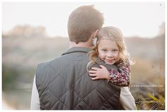 Daddy Daughter Photo. Dad is a daughter's first love. #love cute parent photo for either gender