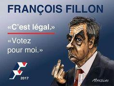 Mylcolas  (2017-02-13) France: Fillon relance sa campagne, il faut réfléchir à de nouvelles affiches...