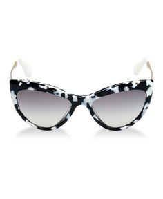 Miu Miu Sunglasses, MU 08OS - Sunglasses - Handbags & Accessories - Macy's