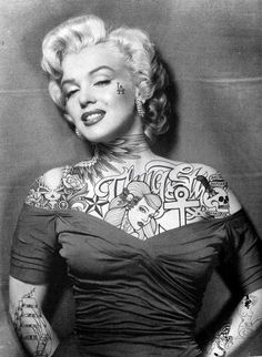 Marilyn Inked...if only we would have had more time with her.