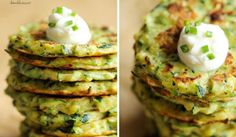 Fitness cuketové placičky s parmezánem Zucchini Patties, Wonderful Recipe, Pain, Avocado Toast, Food And Drink, Healthy Eating, Appetizers, Vegetarian, Homemade