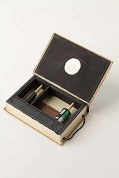 Pinhole Camera from Vintage Book