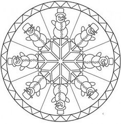 Winter mandala coloring pages for kids Mandala Coloring Pages, Coloring Pages For Kids, Coloring Books, Mandalas For Kids, Christmas Mandala, Mindfulness For Kids, Picasa Web Albums, Buddha Art, Christmas Coloring Pages