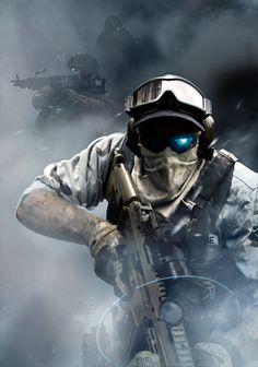 Futuristic Warrior Art | All Games Beta: Ghost Recon: Future Soldier Screens & Concept Art