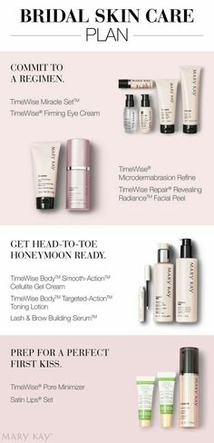 Looking to get your best skin for your Special Day!! To all Brides I really believe this is the best product for you!! Try it!! Call or Text me 705-498-1449 www.marykay.ca/manongoulet