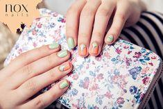 Połączenie pięknych pastelowych odcieni, potrafi zdziałać cuda! W roli głównej słodziutka brzoskwinka , i orzeźwiająca mięta !