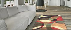 Anti-Bacterial Rubber Back DOORMAT Non-Skid/Slip Rug 18'x31' Contemporary Circles Interior Entrance Decorative Low Profile Modern Indoor Front Inside Kitchen Thin Floor Runner DOOR MATS for Home * Continue to the product at the image link. (This is an affiliate link) #Doormats