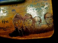 desk-carving