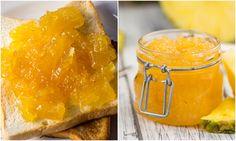 Spre deosebire de gemurile din alte fructe, pentru care trebuie sa astepti vara sa le poti prepara, gemul de ananas poate fi pregatit tot timpul anului. Necesita doar 3 ingrediente, poti folosi ananas din conserva sau ananas proaspat, dupa cum ai disponibil. Garantat vei aprecia aroma pe care ti-o lasa in casa pregatirea gemului de … Peanut Butter, Gem, Food, Alternative, Essen, Jewels, Meals, Gemstone, Gemstones
