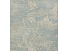 "Brunschwig & Fils LOYANG ON SISAL & COTTON CREAM ON ICEBERG BR-69489.200 | 85% sisal, 15% cotton | 34""w"