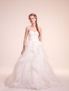 Alita Graham - Sweetheart Ball Gown in Organza