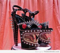 Craziest Heels Ever- I like different shoes but these are a little tooooooo much...