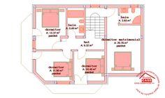 PROIECTE CASE. Proiecte case noi pe anul 2020 Slideshow « » Casa Mondeo Plus House Outside Design, House Design, Design Case, Home Fashion, Decoration, House Plans, Floor Plans, Exterior, How To Plan