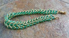 MyAmari: Flat Spiral Stitch Bracelet #Seed #Bead #Tutorials