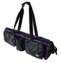 """Yoga Addict â""""¢ Yoga Mat Bag Supreme With Pocket 28 Long Fit Most Mat Size  Extra Wide Purple     You can find out more details at the link of the  image. 6bcbf68e90ace"""