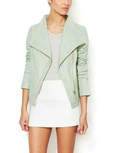 TriBeCa Leather Jacket