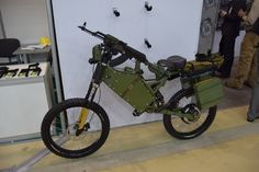 Russian army and police electric bikes
