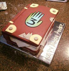 Gravity Falls book cake