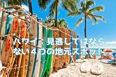 ハワイ、太陽の下で楽しめて、最も人気のある観光地の一つであり、やることがたくさんあります。ここでは地元の観光スポットで見逃してはならない4つを紹介します!