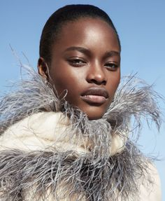 Photography: Camilla Akrans Styled by: Tom Van Dorpe Hair: Franco Gobbi Makeup: Wendy Rowe Model: Mayowa Nicholas