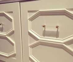 1/2 Dia. Polished Brass Drawer Pulls Lucite Cabinet by LuxHoldups