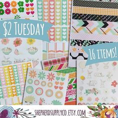 It's $2 Tuesday! Lots of sheets only $2 each. Coupon 50off50 is also still active to save an additional 50% off orders of $50 or more!  http://ift.tt/1V00iVh . . #stickers #planning #planners #sale #stickerholic #simplifiedplanner #eclp #etsy #emilyley #erincondren #limelife #lifeplanner #daydesigner #planner #planners #plumpaper #stickersale #plumpaperplanner #filofax #kikkik #kikkikplanner #planneraddict #plannerstickers #carpediem #carpediemplanner #happyplanner #thehappyplanner…
