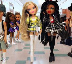 ✨Ugh, as if! ✨ ✨Ugh, as if! ✨ ✨Ugh, as if! ✨ ✨Ugh, as if! Bratz Doll Makeup, Bratz Doll Outfits, Bad Girl Aesthetic, Pink Aesthetic, Cher And Dionne, Black Bratz Doll, Brat Doll, Bratz Girls, Doll Costume