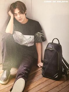 [SCAN] 150618 XIUMIN for The Celebrity x MCM June Issue (2015) ©comme de