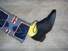 Classic shoes, creative clothes. A perfect match. Handmade, traditional, locally sourced high quality shoes on Omioo.