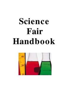 This is a complete science fair handbook to use with your elementary or middle school class to lead them through the science fair process.  The wor...