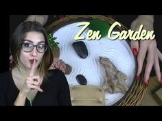 ASMR ICNBUYS Zen garden ~ Let's play around with my zen garden ~ Whispering, Sand Sounds, Tapping - YouTube