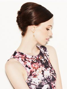 And any hair length. How-To: A Sleek French Twist for SHORT Hair