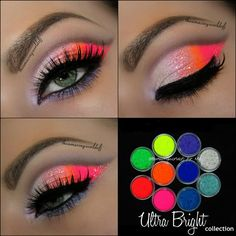 10 MYO Ultra Bright Eyeshadow Pigment Mica Cosmetic Mineral Makeup Limited Color- This is so gorgeous!