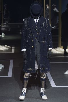 Thom Browne Fall 2016 Menswear Collection Photos - Vogue
