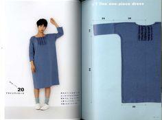 Dritto di Yoshiko Tsukiori cucire grembiule e grembiule abiti - libro di artigianato giapponese
