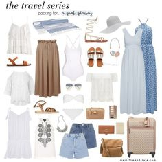 Packing for a Greek Getaway, a beauty post from the blog Flip And Style, written by Vanessa Gollasch on Bloglovin'