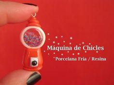 Máquina de Chicles en Porcelana Fria / Resina - Cold Porcelain / resin - YouTube