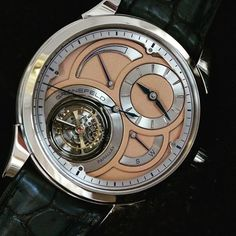 #groenefeldwatches #parallax #tourbillon #watchesandart #watchporn #instawatches #dreamwatches by watchesandart