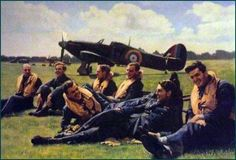 'Never in the field of human conflict was so much owed by so many to so few'
