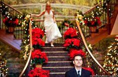 Flor de pascua para bodas navideñas
