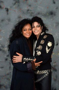 Michael Jackson and Diana Ross!