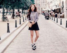 Ulzzang - Ulzzang girl - Ulzzang inspiration - cute girl - cute