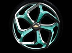Concept Wheel - GM by Vinnie Longo, via Behance
